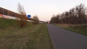 Mauerradweg am Teltowkanal