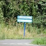 Es gibt auch in Frankreich ein paar ausgeschilderte Fahrradwege. Scheinbar nur für die Touristen...