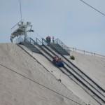 Hier kann man Spaß haben auf den Sandbergen des Kaolinwerkes!