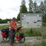 An der deutsch-tschechischen Grenze gibt es noch einmal ausführliche Informationen zu dem Radweg.